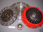 VW BORA 1.9TDI TDI 5 SPEED CARBON KEVLAR CLUTCH & SOLID FLYWHEEL